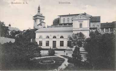 První vlastní sokolovna Sokola v Roudnici n. L. – dnes budova ZUŠ
