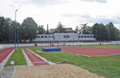 Stadion dnes pohledem od třídy T. G. Masaryka