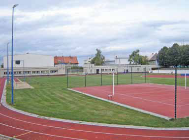Pohled na Tyršův stadion dnes